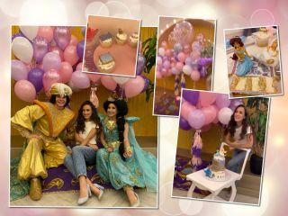 Восточная ночь: Виктория Дайнеко отметила 4-й день рождения дочери в стиле сказки «Аладдин»