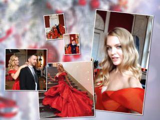 Добро пожаловать в сказку: Елена Кулецкая с мужем и дочками сняли новогоднее видео