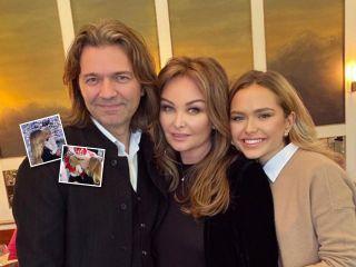 Первая елка: сын Дмитрия Маликова познакомился с Дедом Морозом