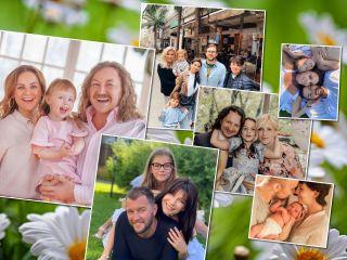 День семьи, любви и верности: российские звезды поделились новыми семейными портретами