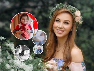 От 0 до 5 лет: Полина Диброва показала особенные снимки младшего сына