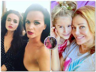 Family look: Татьяна Терешина и певица Слава с дочками пришли на премию в одинаковых нарядах