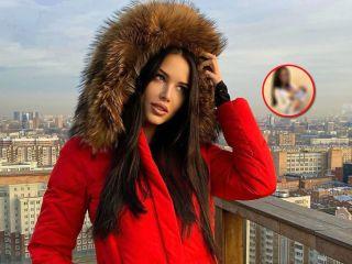 Ему уже месяц! Анастасия Решетова опубликовала фото сына, не пряча его лицо за смайлами