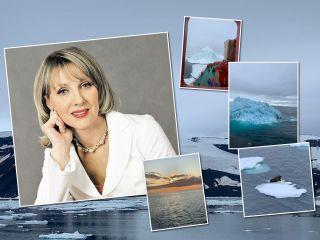 Льды, медведи и полный восторг: Елена Яковлева поделилась кадрами из путешествия по Северному полюсу