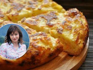 Вкусно в любое время года: Евгения Добровольская поделилась рецептом капустной шарлотки