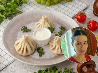 Для мясоедов и вегетарианцев: Тина Канделаки поделилась рецептом легендарных хинкали