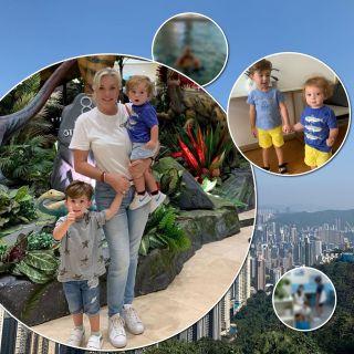 Будни в Гонконге: супруга Валентина Юдашкина поделилась теплыми снимками с внуками