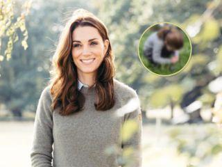 По-настоящему весенний: Кейт Миддлтон представила новый портрет принцессы Шарлотты
