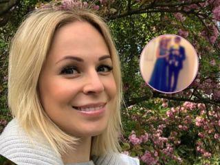 Впервые с момента родов: Ирина Медведева показала мужа и 4-месячного сына