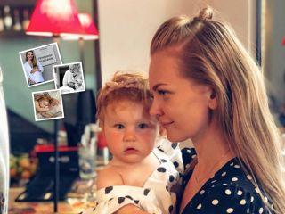 Малышке исполнился год: Елена Кулецкая показала редкие фото дочери с самого рождения
