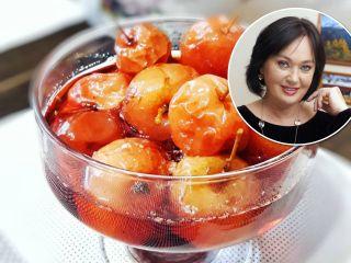 Вкус из детства: Лариса Гузеева поделилась семейным рецептом варенья из райских яблочек
