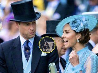Как обычная семья: принц Уильям и Кейт Миддлтон с детьми полетели к королеве вместе с простыми пассажирами
