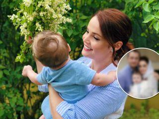 Екатерина Вуличенко рассекретила лицо 7-месячного сына в день его крещения