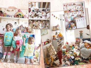 Размах впечатляет: мама шестерых детей превратила дом в магазин игрушек