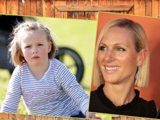 Учись самостоятельности: Зара Филлипс нашла 6-летней дочке работу на карантине