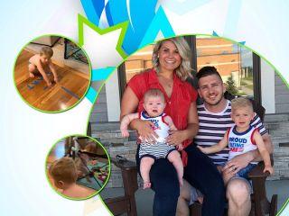 «Нужна только изолента»: молодая мать устроила дома оригинальный квест для маленького сына