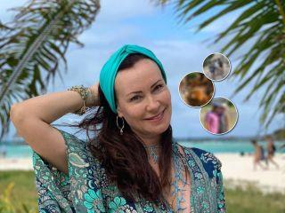 Каникулы в Мексике: Нонна Гришаева показала кадры из отпуска с семьёй