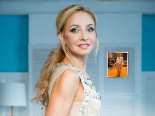 Спорт без паузы: Татьяна Навка показала, как выглядят онлайн-тренировки ее дочки Нади