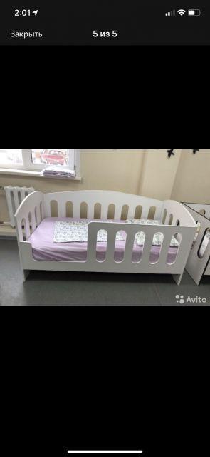Кровать для двухлетки .