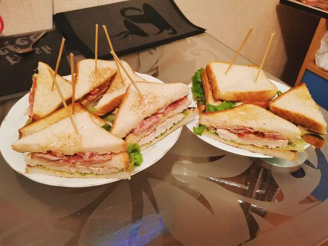 Сэндвич Клаб 🥪🥪🥪