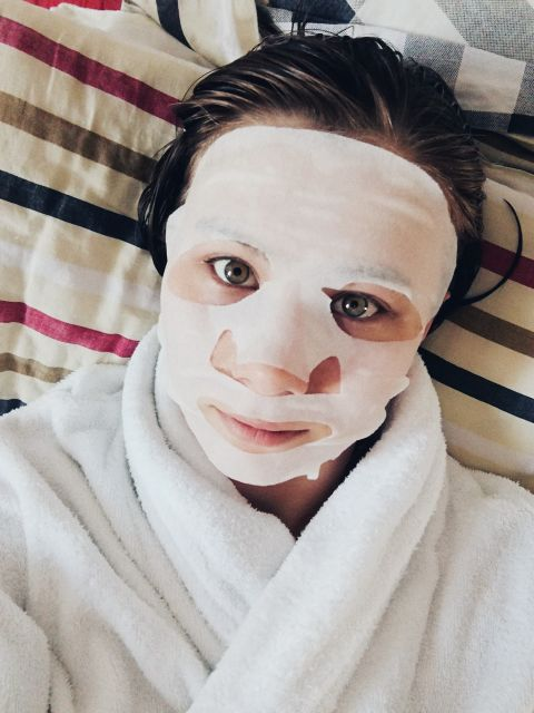 По утрам, я похожа на мумию 😅👌