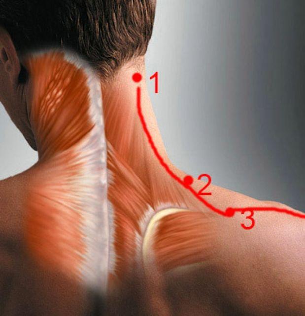 Болит шея с правой стороны