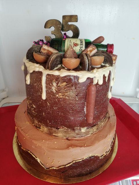 Сделала торт, на заказ 1й раз.