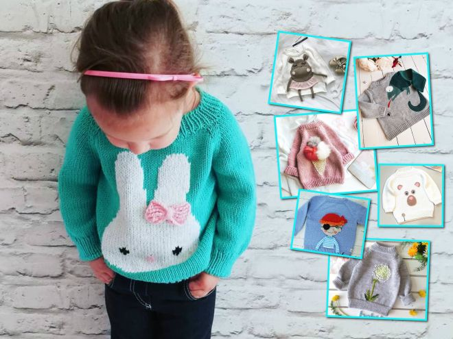 Утепляемся: 30 милых детских свитеров для мальчиков и девочек