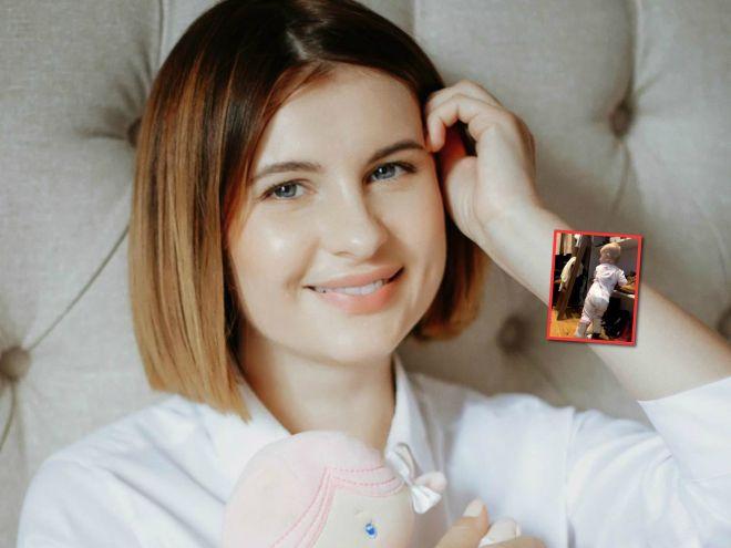 Мамы поймут: Анна Цуканова-Котт поделилась забавным видео о годовалой дочери