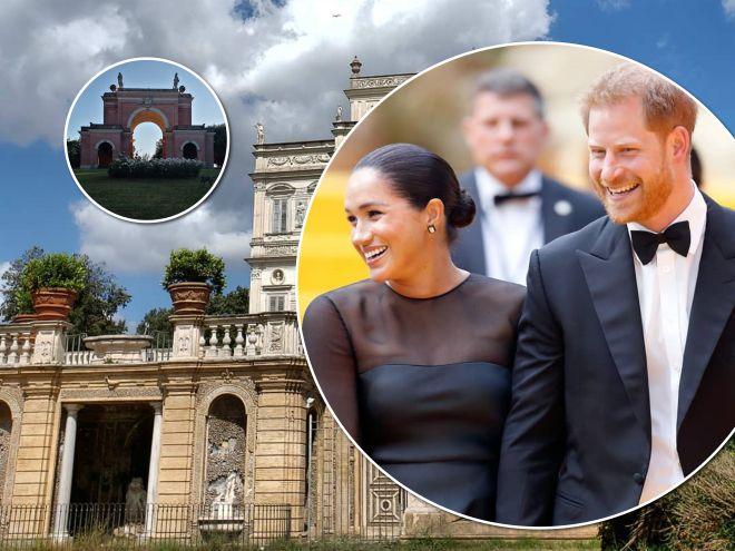 На свадьбу к подруге: принц Гарри и Меган Маркл устроили римские каникулы без сына