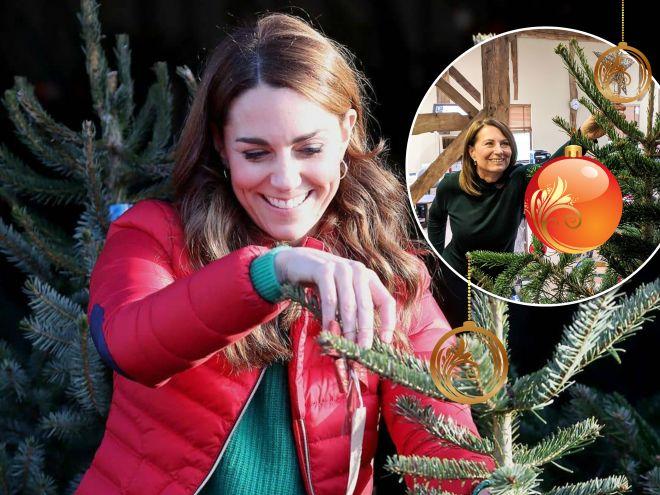 Мама Кейт Миддлтон показала их домашнюю новогоднюю елку