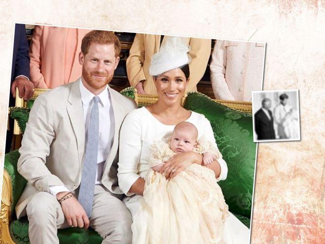 Отцы и деды: принц Гарри впервые показал портрет с принцем Чарльзом и малышом Арчи