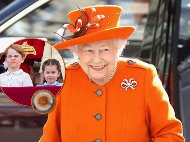 Принц Джордж и принцесса Шарлотта обожают блюдо, которое запрещает Елизавета II