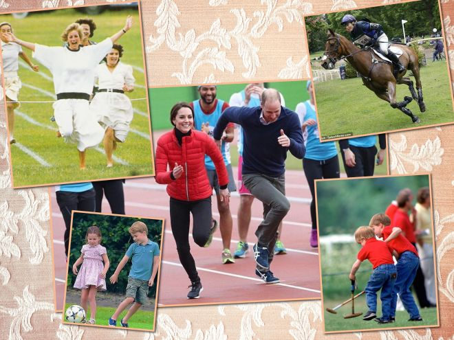 Хоккей на траве, футбол: с какими видами спорта на «ты» Кейт Миддлтон и другие члены королевской семьи
