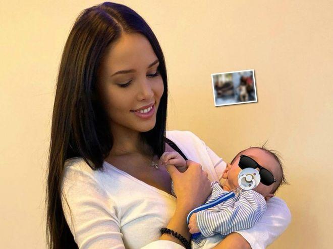 Когда папа рядом: Анастасия Решетова поделилась новыми снимками Тимати с сыном