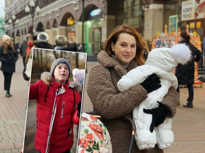 «Это такой смех»: Ирина Слуцкая рассказала, как ее сын называет младшую сестру