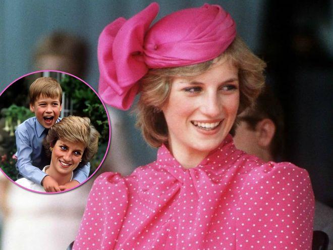 Необычно: принцесса Диана нашла интересный способ сделать непоседу-принца Уильяма более усидчивым