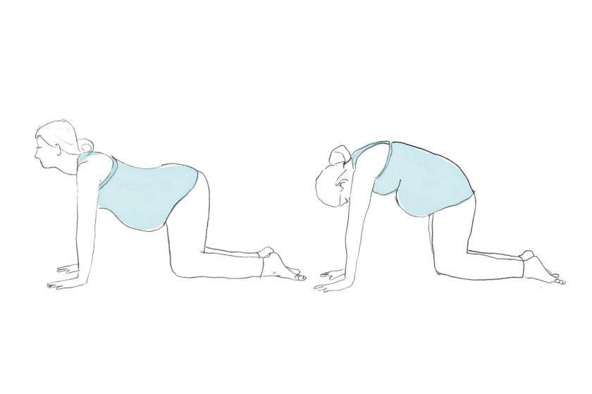Упражнения в картинках чтобы перевернулся ребенок