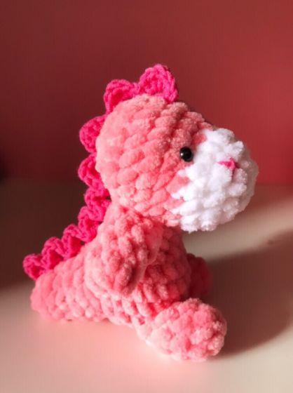 Розовый Дино