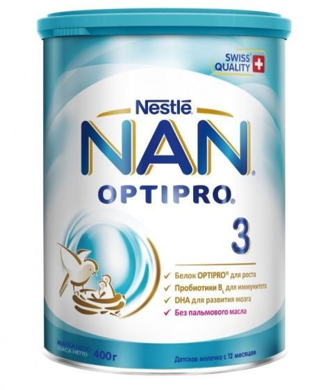 Молочная смесь NAN 3