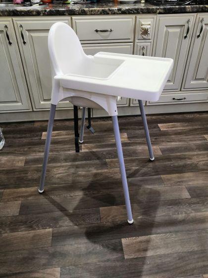 Стульчик Ikea. Скажите как снять столик?