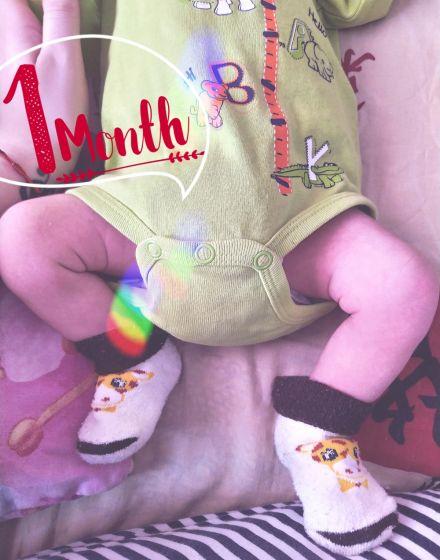 1 месяц 💙